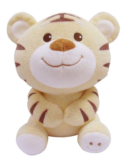 Huggable Cute Plush Tiger Stuffed Soft Tiger Promotion Toy
